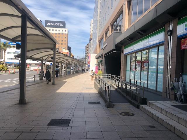 中央駅西口店道案内5