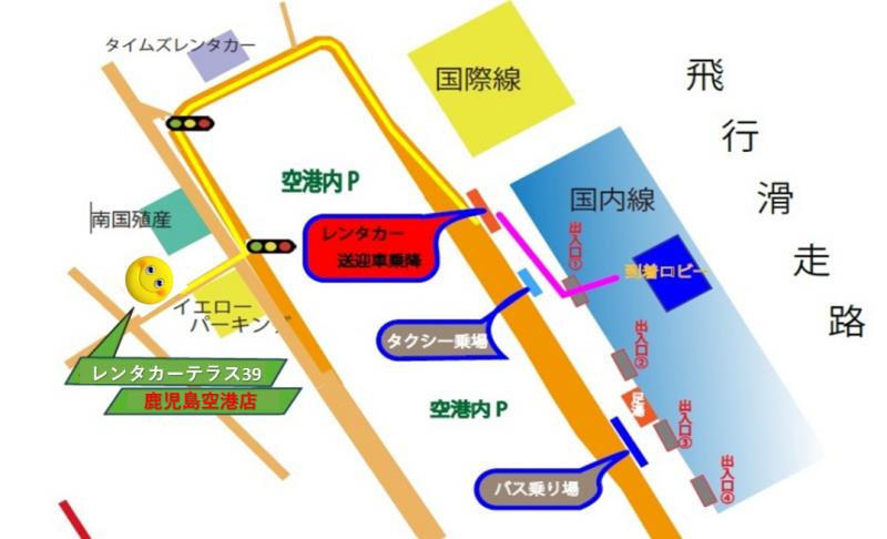 空港店地図
